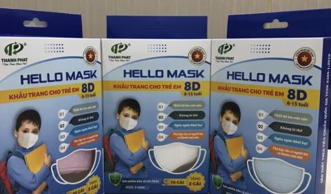 Sản phẩm mới - Khẩu trang 8D Hello Mask
